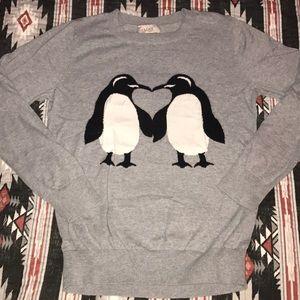 Loft•Penguin Love Sweater